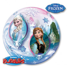 "Шар ЗD Сфера Холодное сердце Disney BUBBLE 22""/55 см"